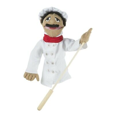 Melissa And Doug Chef Puppet 40353 - NEW! • 17.99£