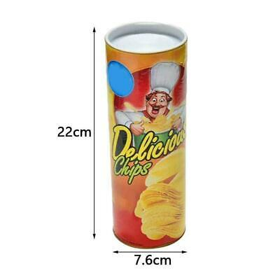 Potato Chip Snake In A Can Gag Gift Prank Large Size Shock Funny Scare Sale Hot • 5.35£