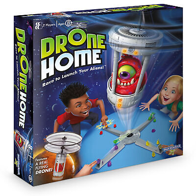 Drone Home Board Game Race To Launch Your Aliens • 19.95£