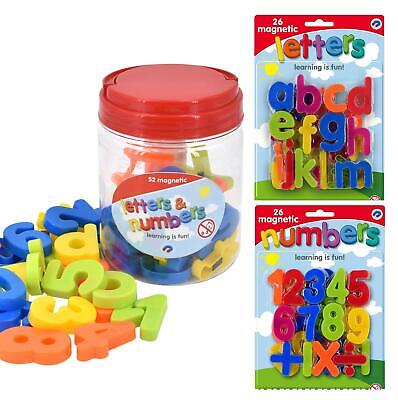 Magnetic Lowercase Letters And Numbers Fridge Magnet Kids Learning Toy • 5.89£