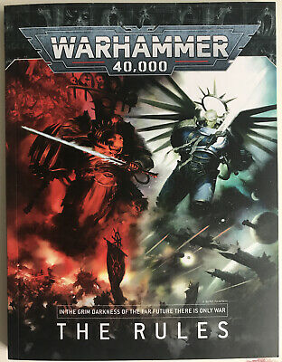 "Warhammer 40k Compact ""the Rules"" 9th Edition Soft Cover Paperback Rulebook New • 17.99£"