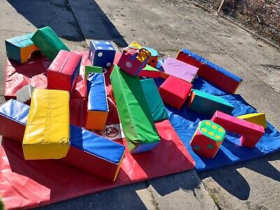 Commercial Soft Play Set 24 Items Including The Mats + 1 Free Item • 349£