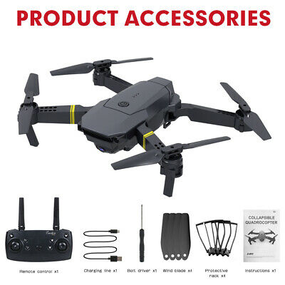 Drone X Pro WIFI FPV 4K HD Camera 3Batteries Foldable Selfie RC Quadcopter • 31.99£