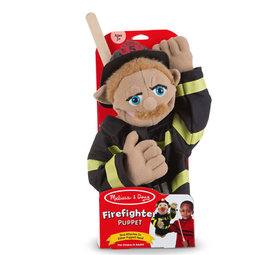 Melissa And Doug Firefighter Puppet - 40352 - NEW! • 19.99£