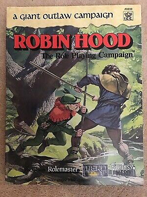 Robin Hood Rolemaster A Giant Outlaw Campaign • 25£