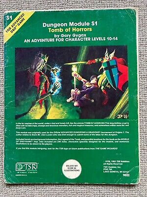 Tomb Of Horrors Advanced Dungeons And Dragons TSR  • 35£