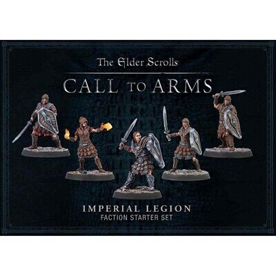 Elder Scrolls: Call To Arms: Imperial Faction Starter Set - Brand New & Sealed • 16£