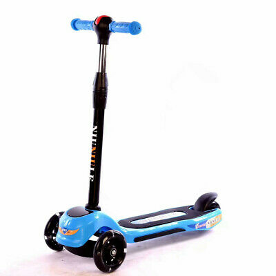 Kids Scooter 3 Wheel With LED Flashing Wheels Chameleon Tri Scooter Ages 4-10 • 19.99£