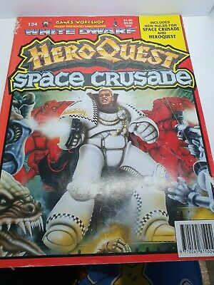 White Dwarf Magazine Issue 134: Contains New Rules For Heroquest & Space Crusade • 19.90£