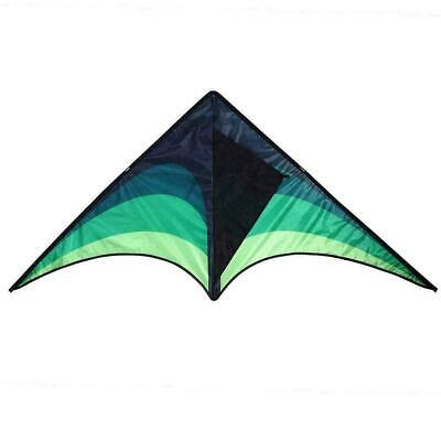 Large Delta Kite For Kids And Adults Single Easy Line Fly Kite A5H1 Handle • 5.98£