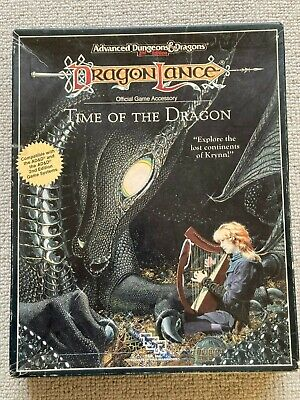 Time Of The Dragon (Complete) Box Set Advanced Dungeons And Dragons 2E TSR  • 35£