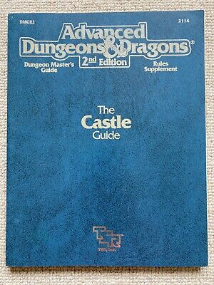 Castle Guide Advanced Dungeons And Dragons 2E TSR  • 20£