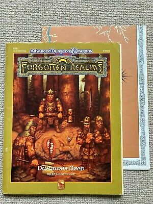 Dwarves Deep Forgotten Realms Advanced Dungeons And Dragons 2E TSR  • 20£