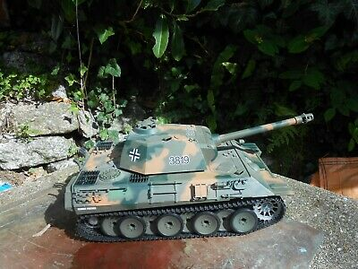 1/16th Scale R / C  German Panther WW2 Battle Tank By Heng Long  • 45£