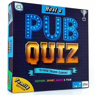 Host Your Own Pub Quiz Classic Trivia Pursuit Board Game Family Team Play • 8.95£