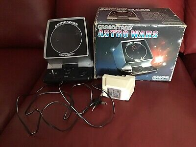 Grandstand Astro Wars 1981 Vintage Tabletop Electronic Game In Working Order. • 56.51£