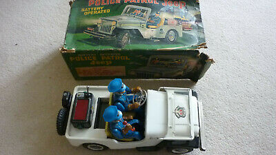 TN Toys Japan Police Patrol Jeep Battery Operated • 75£