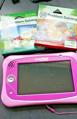 LeapFrog 6020 Leap Pad Ultimate Toy, Pink + Doc McStuffin And Paw Patrol Games • 13£