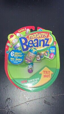 Mighty Beanz Series 2 For Ages 5+ 6 Mighty Beanz Includes Mega Bean • 1.99£