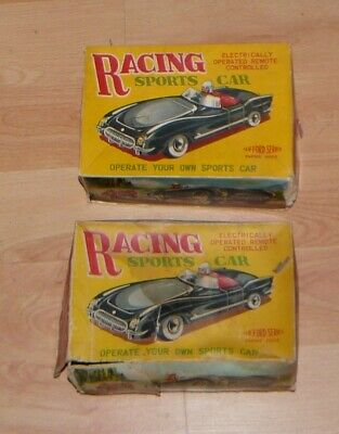 Two Vintage Clifford Racing Cars Boxed • 40£