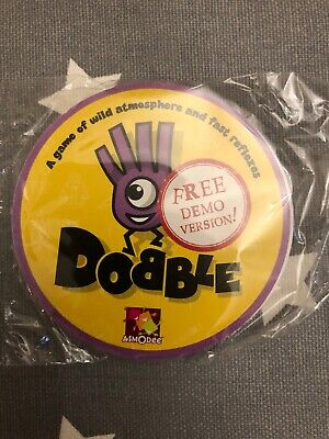 Dobble Card Game - Sample Edition - Brand New And Sealed - Demo Version • 4£