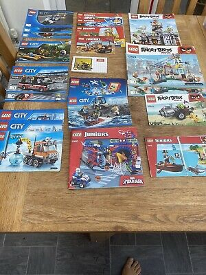 Lego Instructions Manuals Bundle  • 4.10£