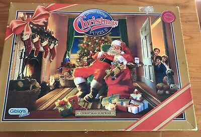 Gibsons Christmas Surprise 1000 Piece Puzzle • 7.99£