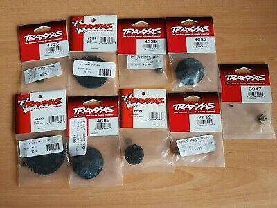 Traxxas Assorted Spur And Pinion Gears, New In Packet, For Stampede, Rustler Etc • 20£