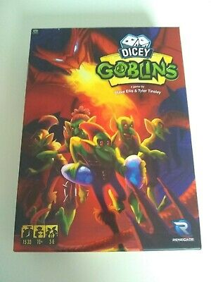 Dicey Goblins By Renegade Games. Complete And In Perfect Cond. Hermes 2nd Class. • 1.99£