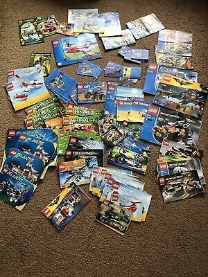 Lego Instruction Books Joblot.  • 12£