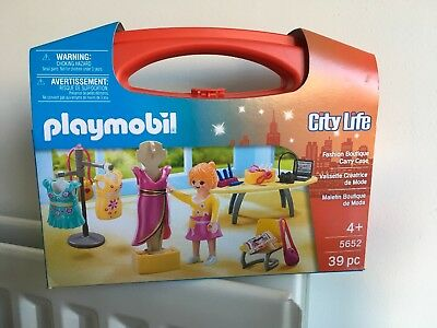 Playmobil City Life 5652 Fashion Boutique Carry Case • 12£