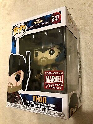 Funko Pop! Marvel 247 Thor Collector Corps • 2.20£