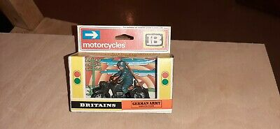 Britains 9679 German Army Dispatch Rider. Mint & Boxed • 54.95£