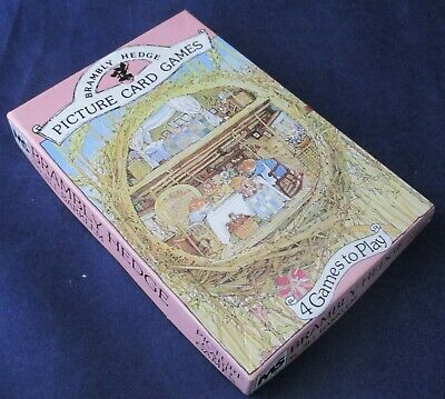 Brambly Hedge Picture Card Games - Complete In Original Box • 4.99£