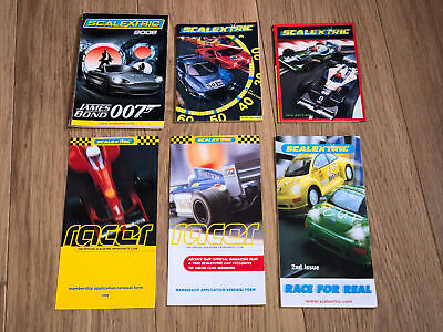 Scalextric Hornby Various Catalogues Paperwork Leaflets 35th 36th Edition • 2.99£