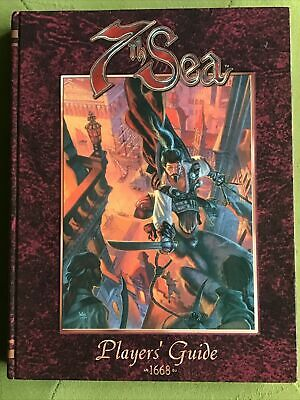 7th Sea Role Playing Game Player's Guide  RPG AEG • 22£