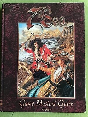 7th Sea Role Playing Game Game Master's Guide  RPG AEG • 22£