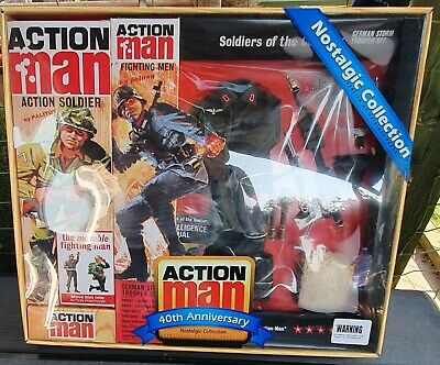 40th Anniversary Nostalgic Action Man German Stormtrooper Set. Includes Figure. • 65£