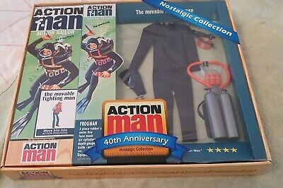40th Anniversary Nostalgic Action Man Frogman. Includes Action Man. • 65£