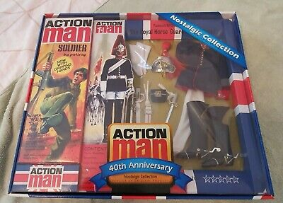 40th Anniversary Nostalgic Action Man The Royal Horse Guards Includes Action Man • 65£