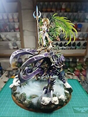 Alarielle The Everqueen AOS Age Of Sigmar Warhammer Sylvaneth Pro Painted • 446.78£
