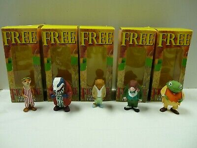 Typhoo Tea Wind In The Willows Hand Painted Resin Figures Complete Set Of 5 D21 • 12.50£