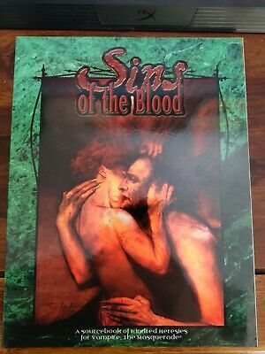 Sins Of The Blood (Vampire: The Masquerade) Excellent Condition • 10£