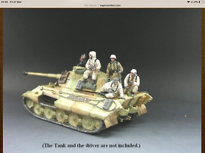 King And Country BBG03 4 Figure Winter Tank Set Battle Of The Bulge Series • 149.50£