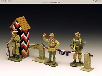 King And Country AK17 Afrika Corp Checkpoint Mint Condition German Army WW2 • 149£