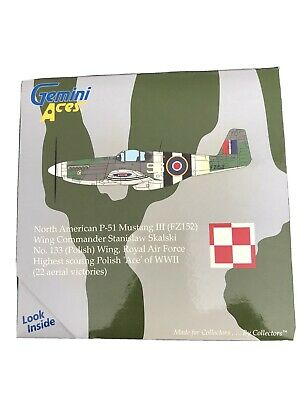 Gemini Aces 1 72 Limited Edition 187 Of 2000 P-51 Mustang III FZ152) Polish Wing • 19.90£