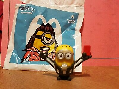 Minions Rise Of Gru McDonalds Happy Meal Toy Collectors Red Card Football Ref • 0.99£
