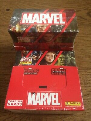 Panini Marvel Trading Cards . X2 Box Of 36 (sealed) That's 72 Packets .New • 25£