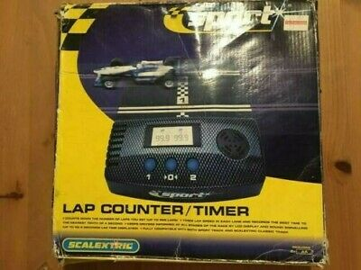 Scalextric Digital Sport Lap Counter/timer. Never Used. With Box And Manual • 10£