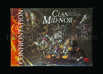 CONFRONTATION - CLAN MID-NOR Court Of The Abyss, The Colony Of Ephorath, NEW • 200£